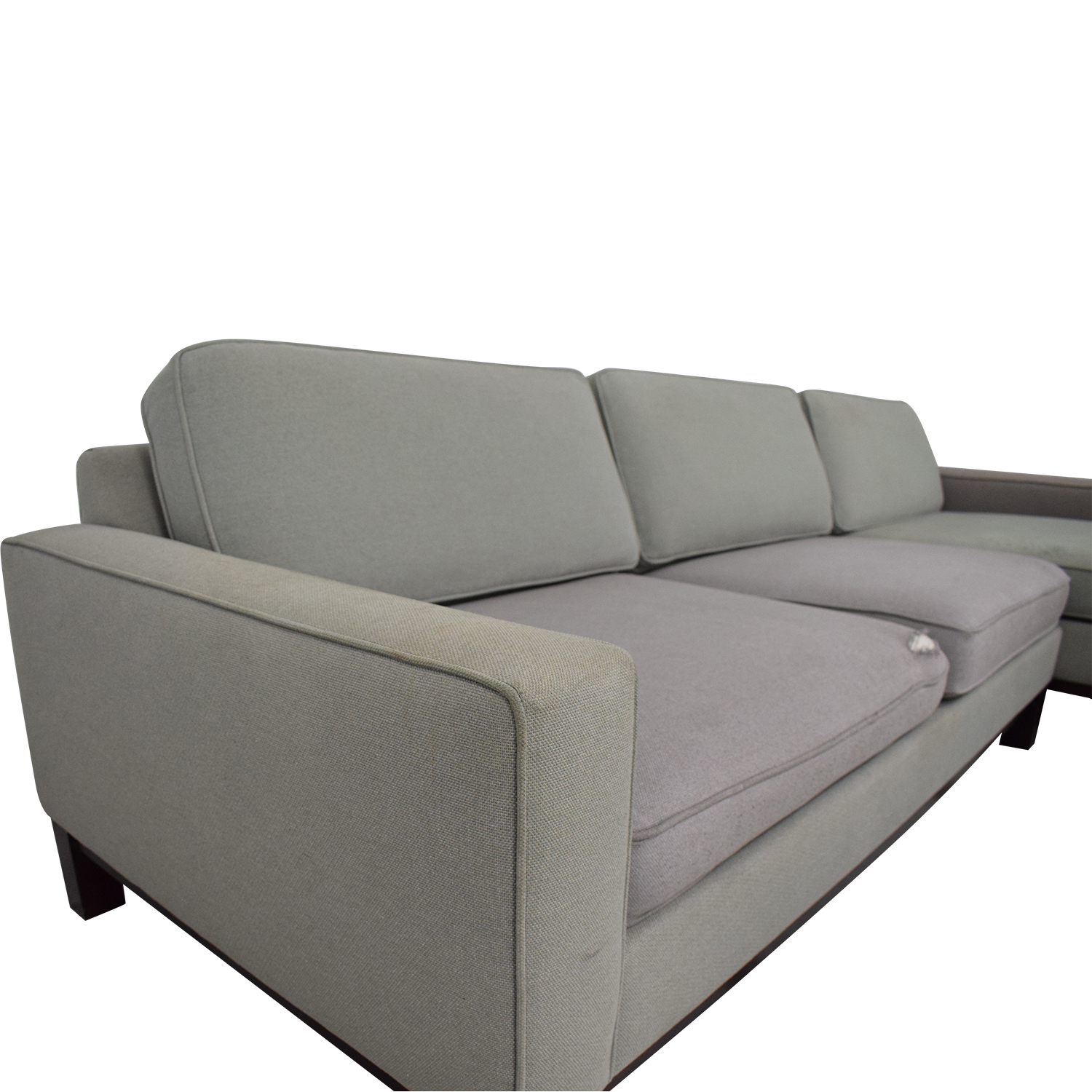 Room & Board Room & Board Chaise Sectional Sofa dimensions