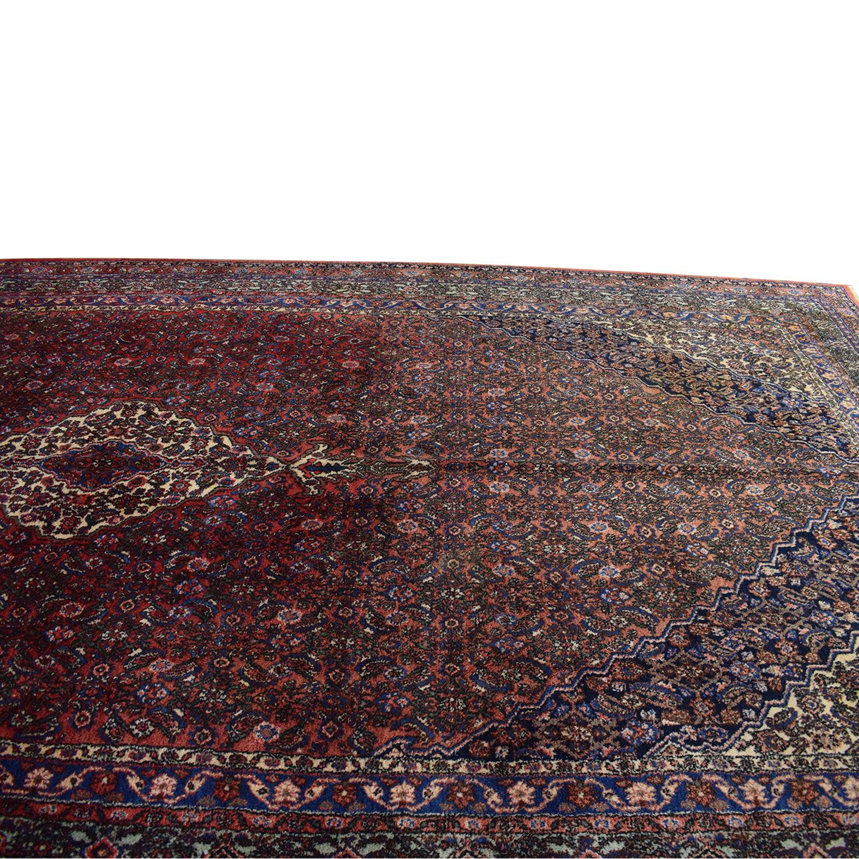 Vintage Bibikibad Persian Rug coupon
