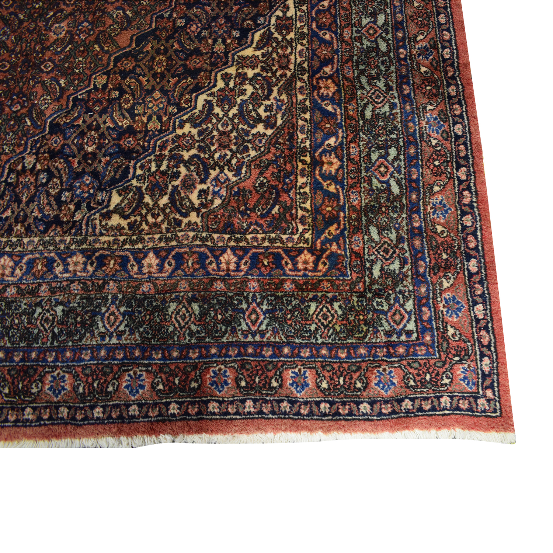 Vintage Bibikibad Persian Rug used