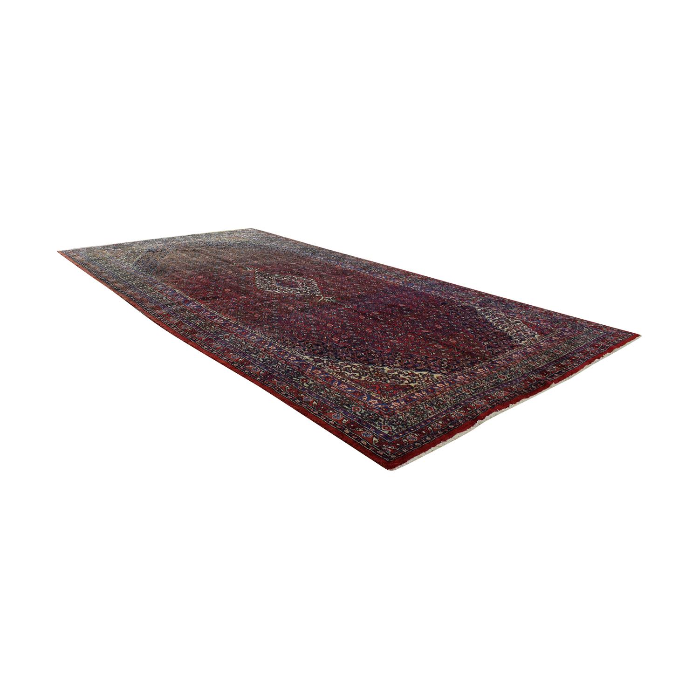 Vintage Bibikibad Persian Rug Rugs