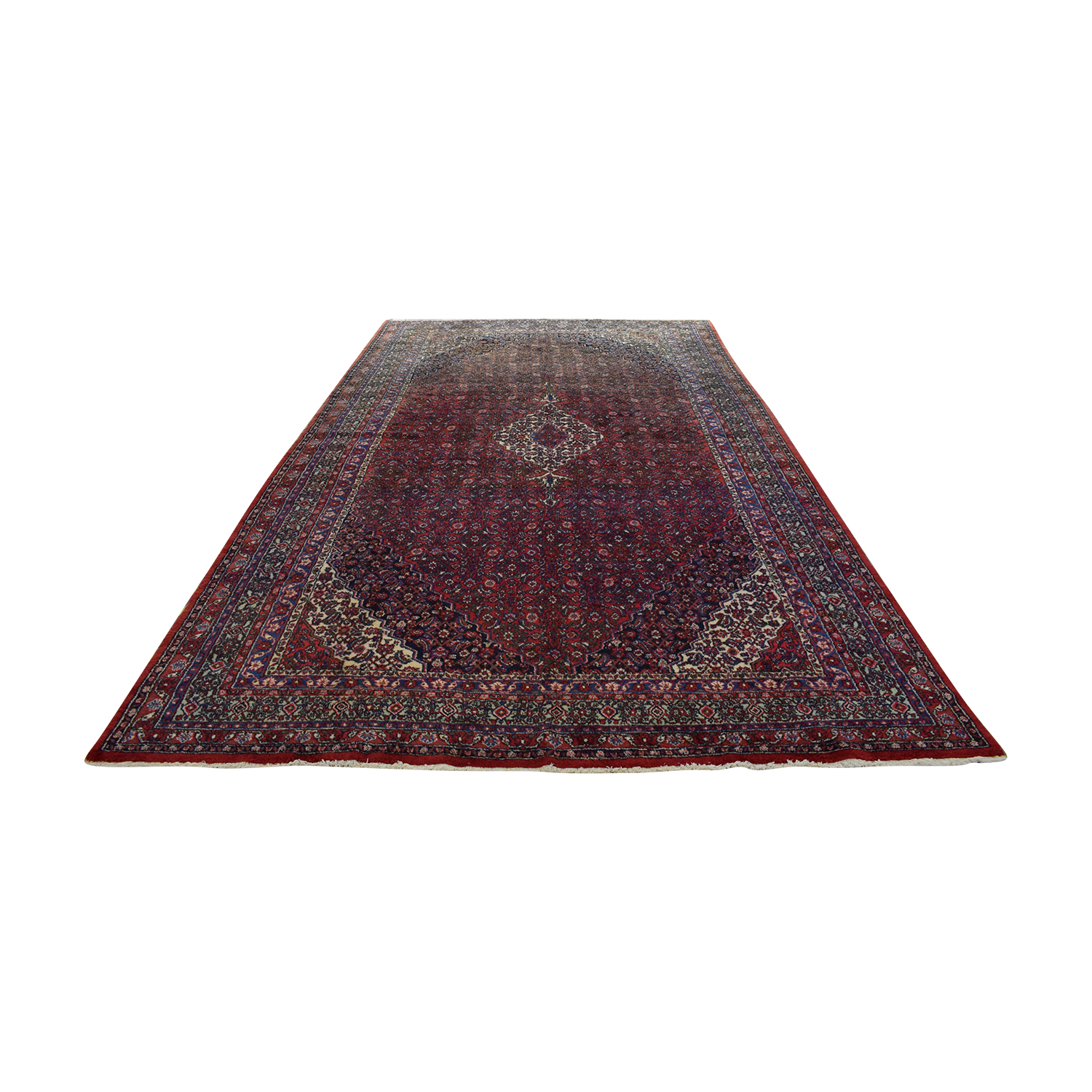 Vintage Bibikibad Persian Rug coupon