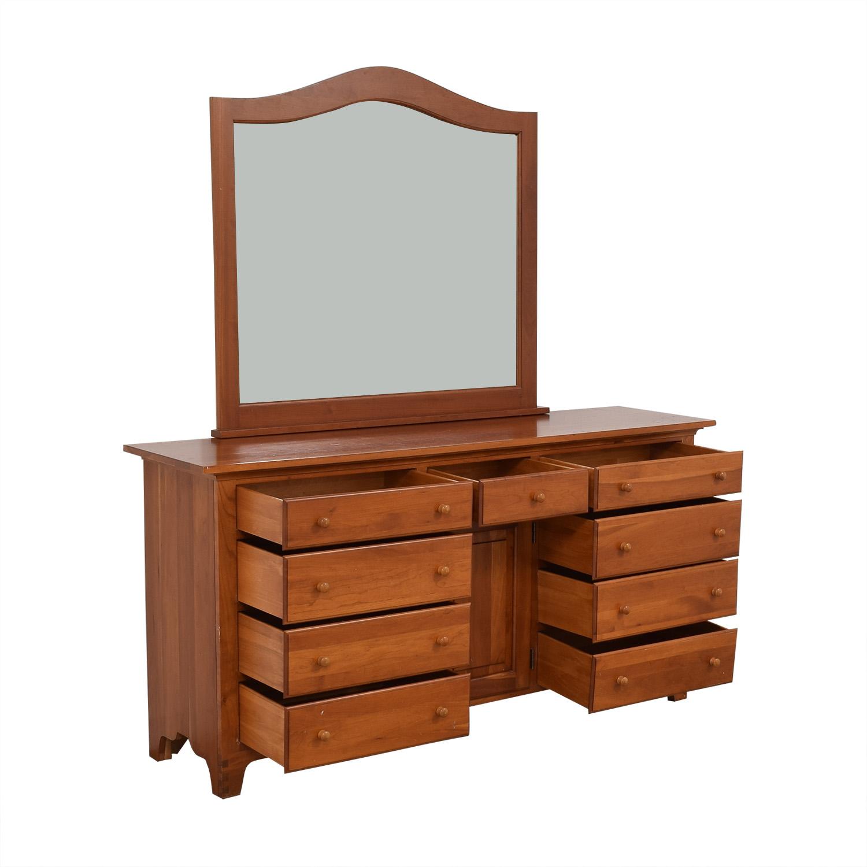 Ethan Allen Ethan Allen Dresser with Mirror ct