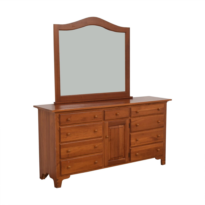Ethan Allen Ethan Allen Dresser with Mirror price
