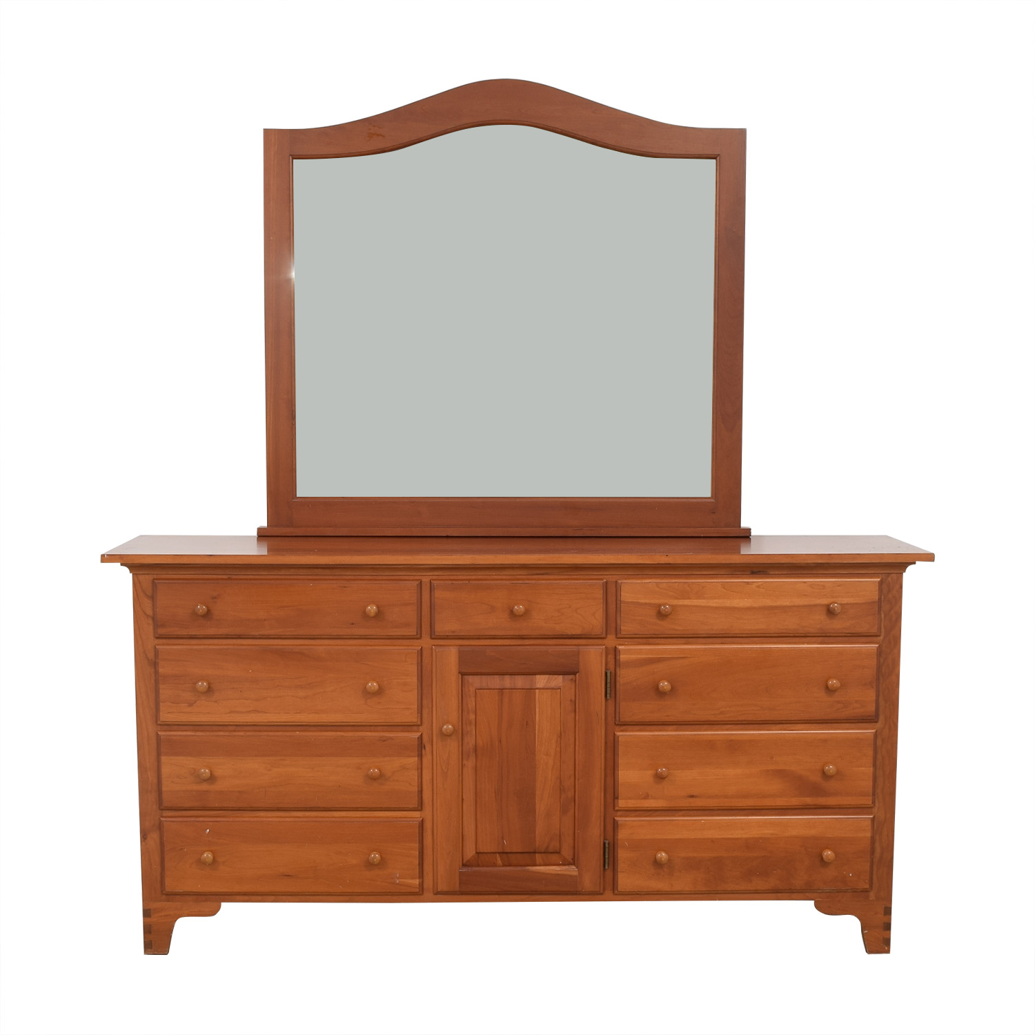 shop Ethan Allen Dresser with Mirror Ethan Allen Storage