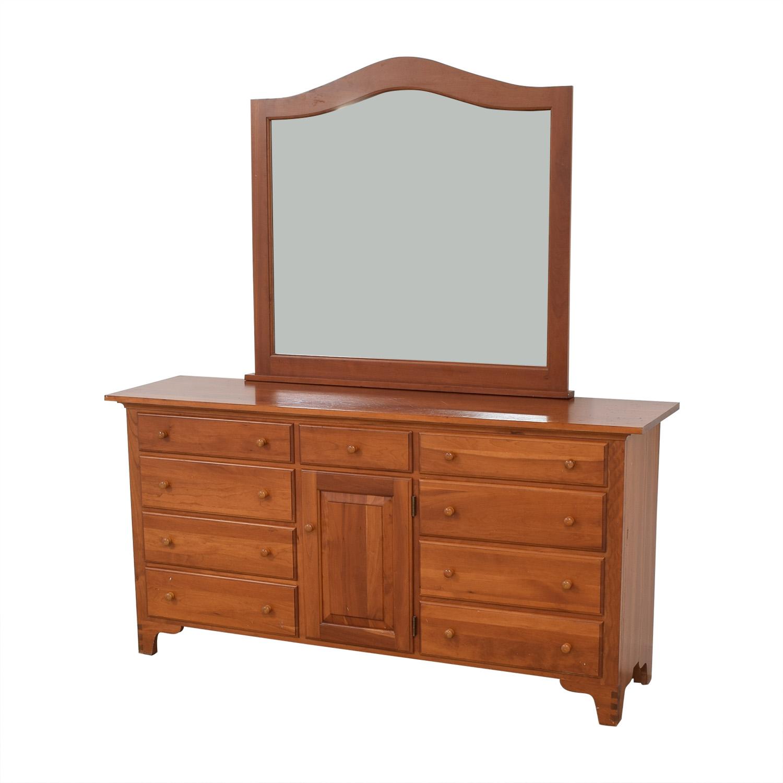 Ethan Allen Ethan Allen Dresser with Mirror Dressers