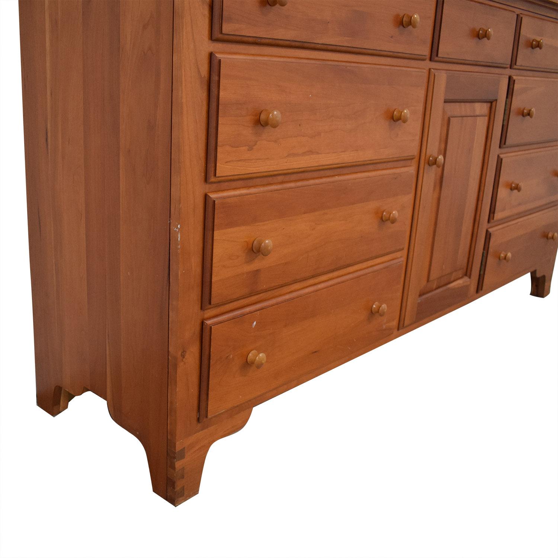 shop Ethan Allen Dresser with Mirror Ethan Allen Storage
