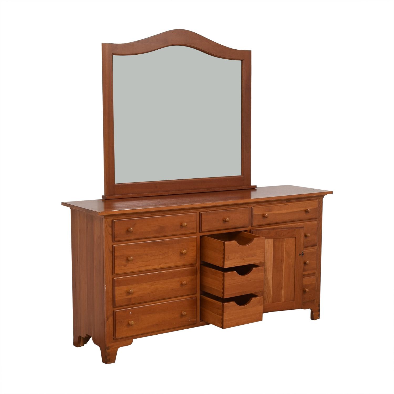 Ethan Allen Ethan Allen Dresser with Mirror
