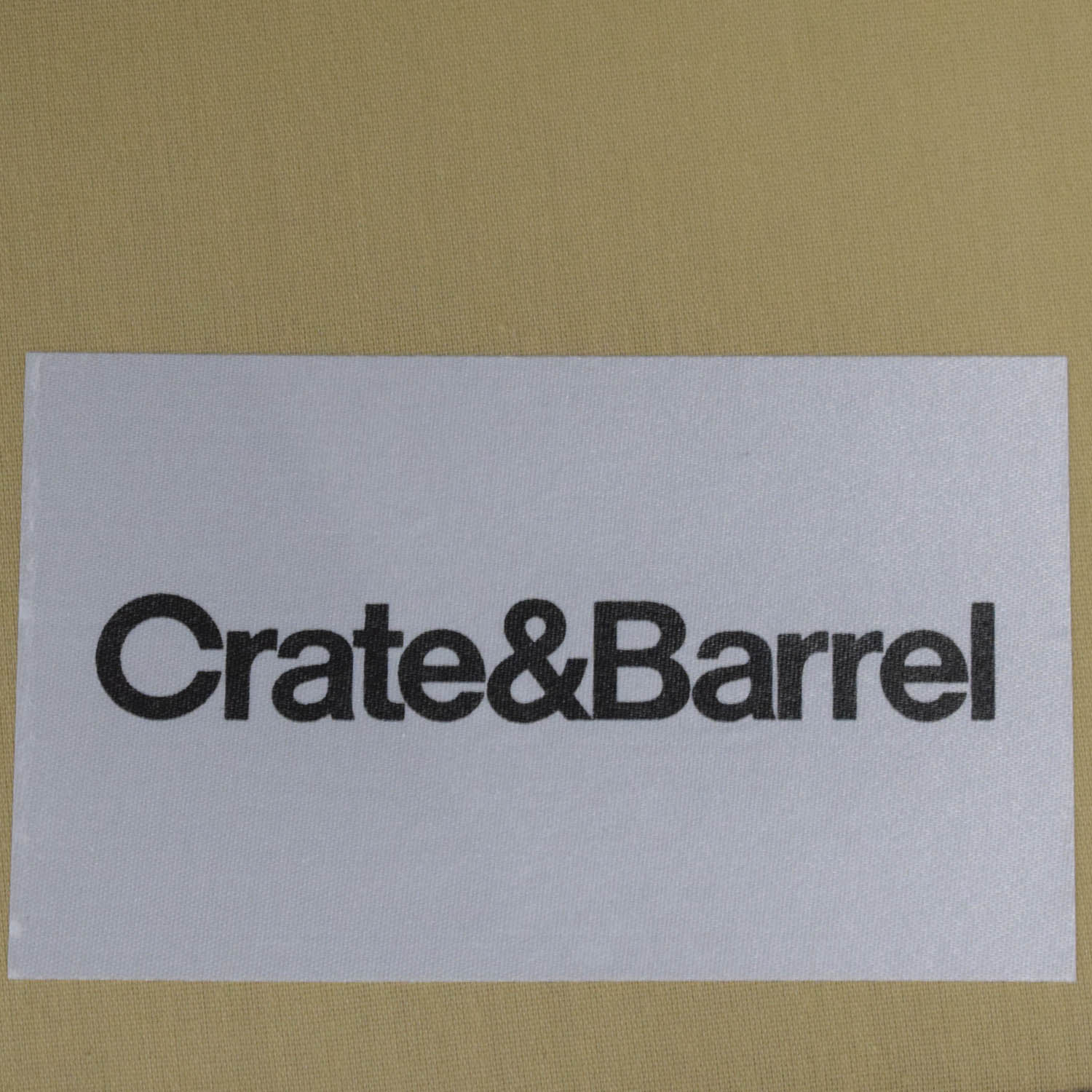 Crate & Barrel Crate & Barrel Axis Chaise Sectional Sofa discount