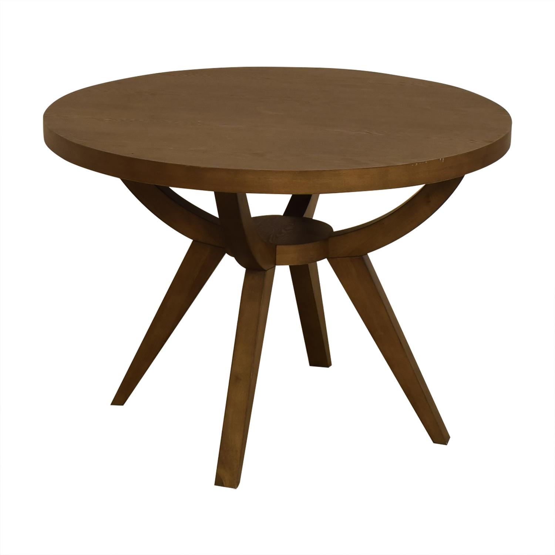 West Elm West Elm Arc Base Pedestal Dining Table discount