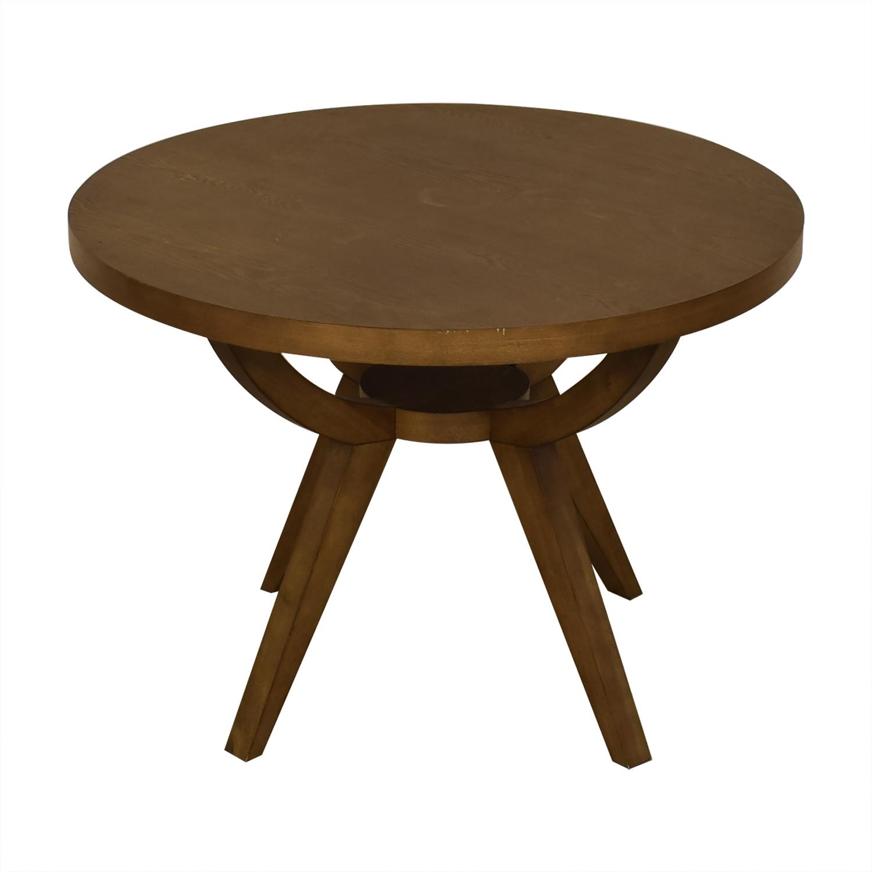 West Elm West Elm Arc Base Pedestal Dining Table nj