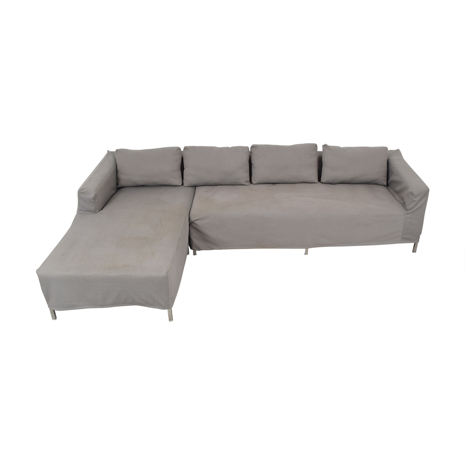 shop Gus Modern Sectional Sofa with Chaise Gus Modern