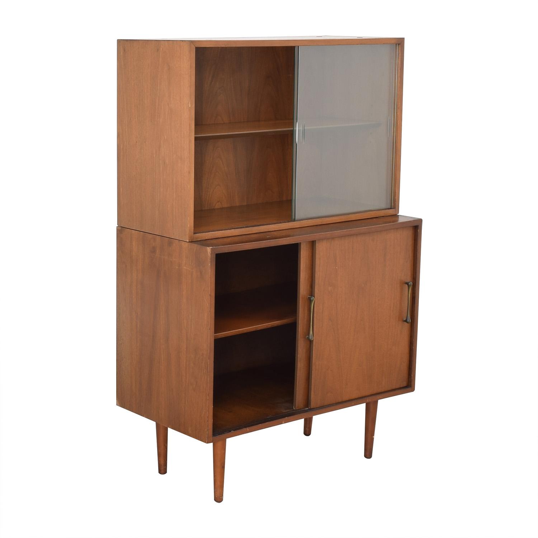 shop Macy's Mid Century Modern Cabinet Macy's Storage