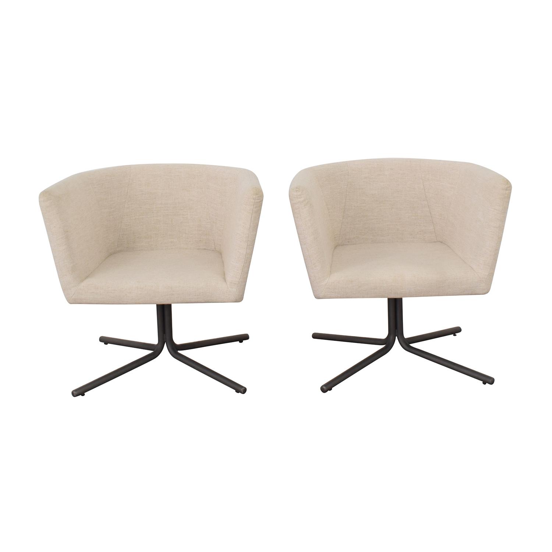 CB2 CB2 Swivel Chairs pa