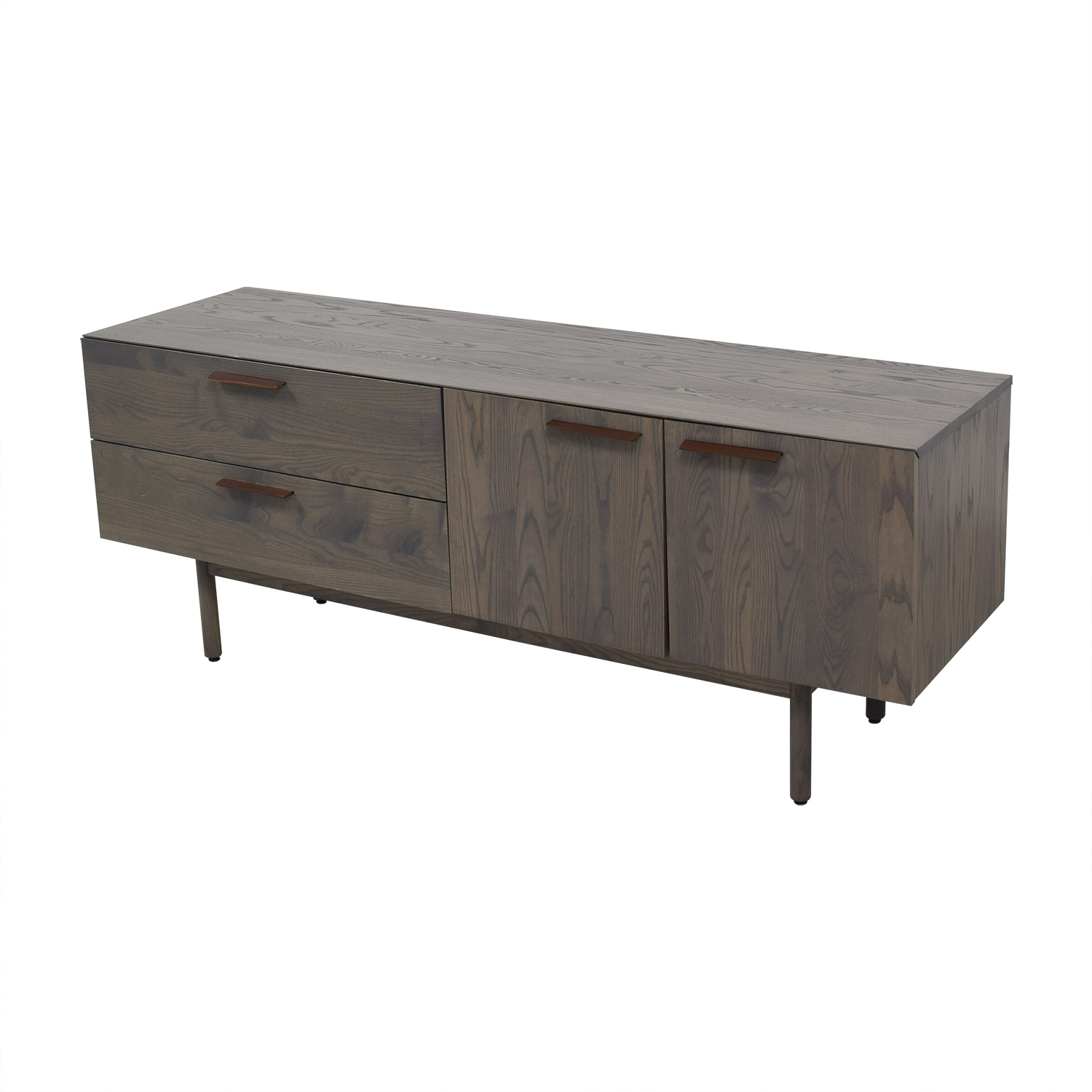 buy  Entertainment Unit with Two Drawers and Cabinets online