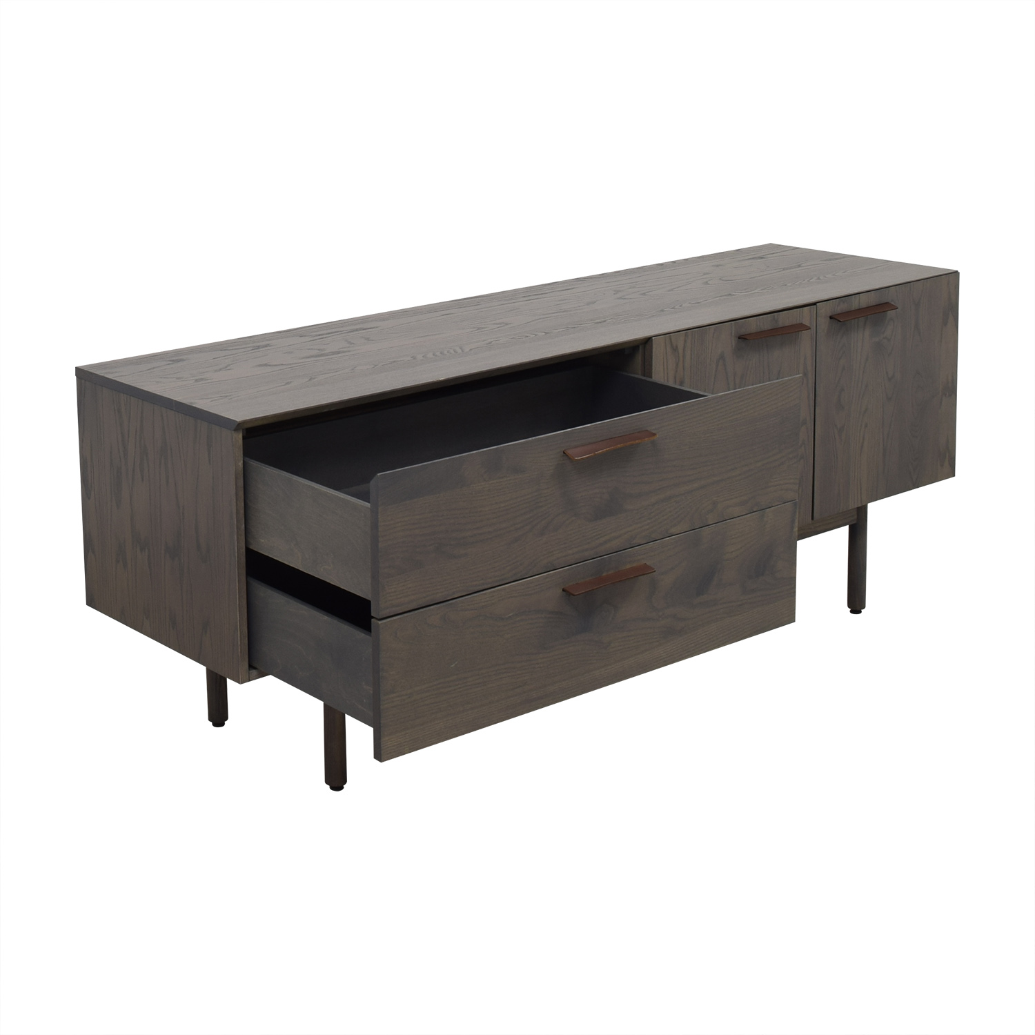Entertainment Unit with Two Drawers and Cabinets / Media Units