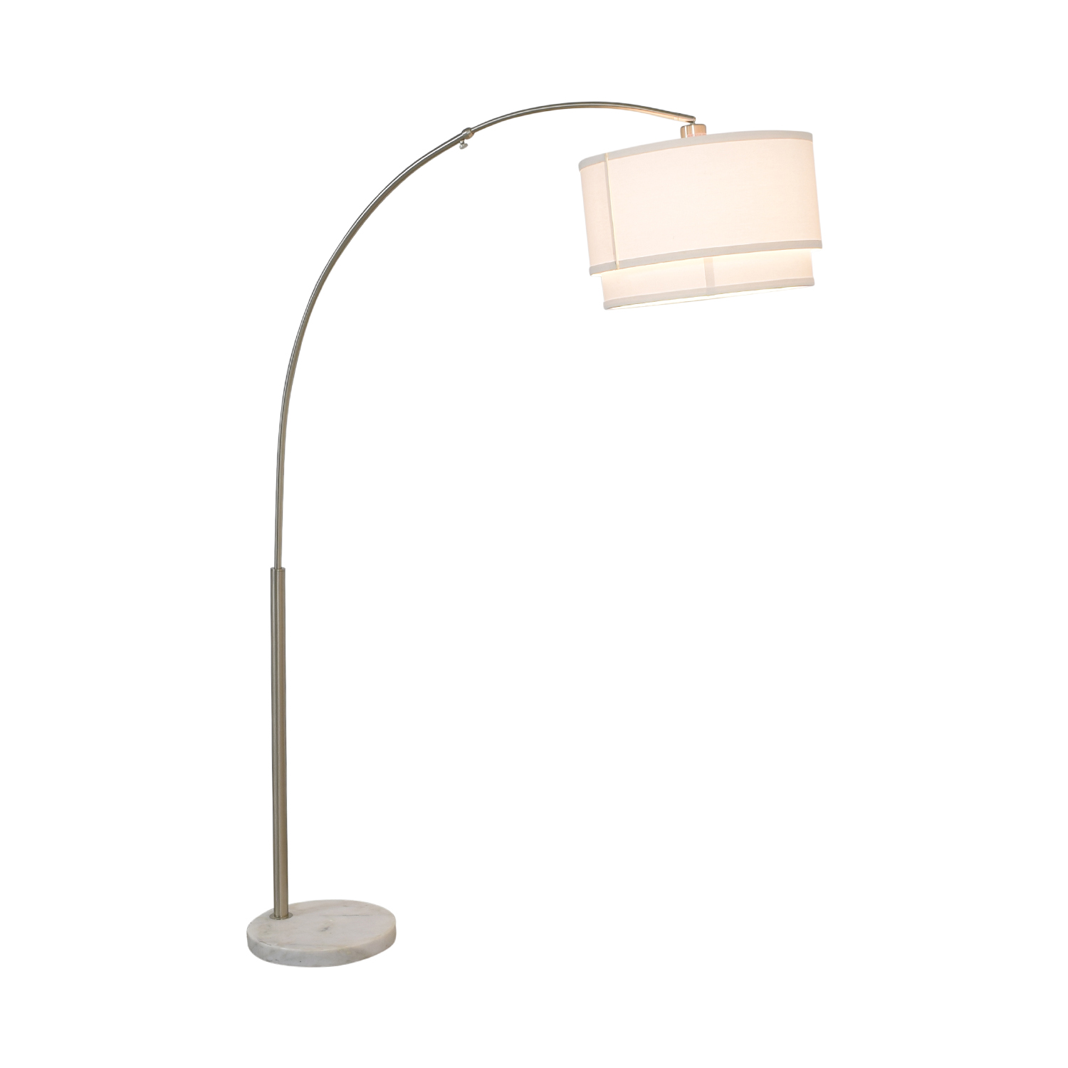 buy Crate & Barrel Meryl Arc Floor Lamp Crate & Barrel Lamps