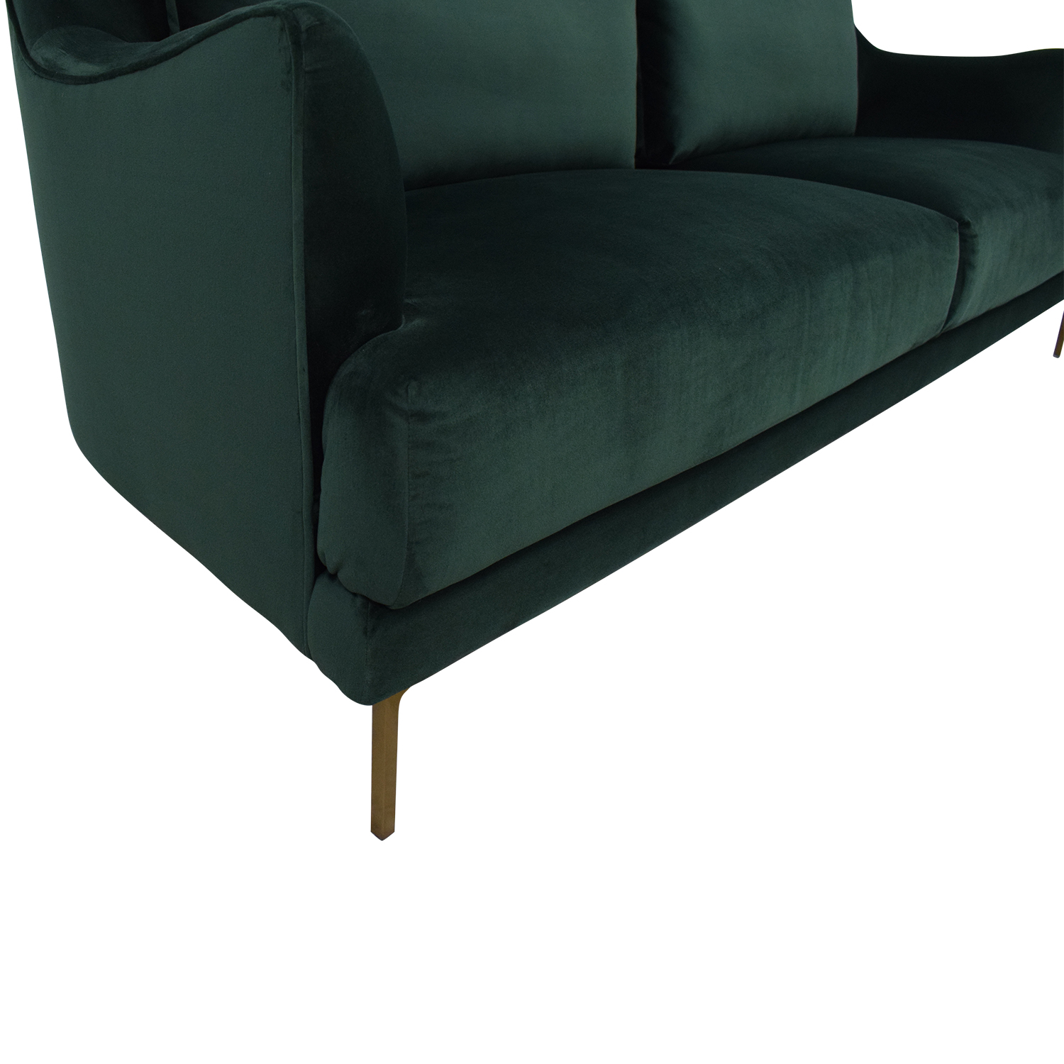 Cost Plus World Market Forest Green Sofa Cost Plus World Market