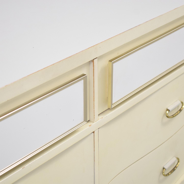 shop Bassett Furniture Six Drawer Dresser Bassett Furniture Storage