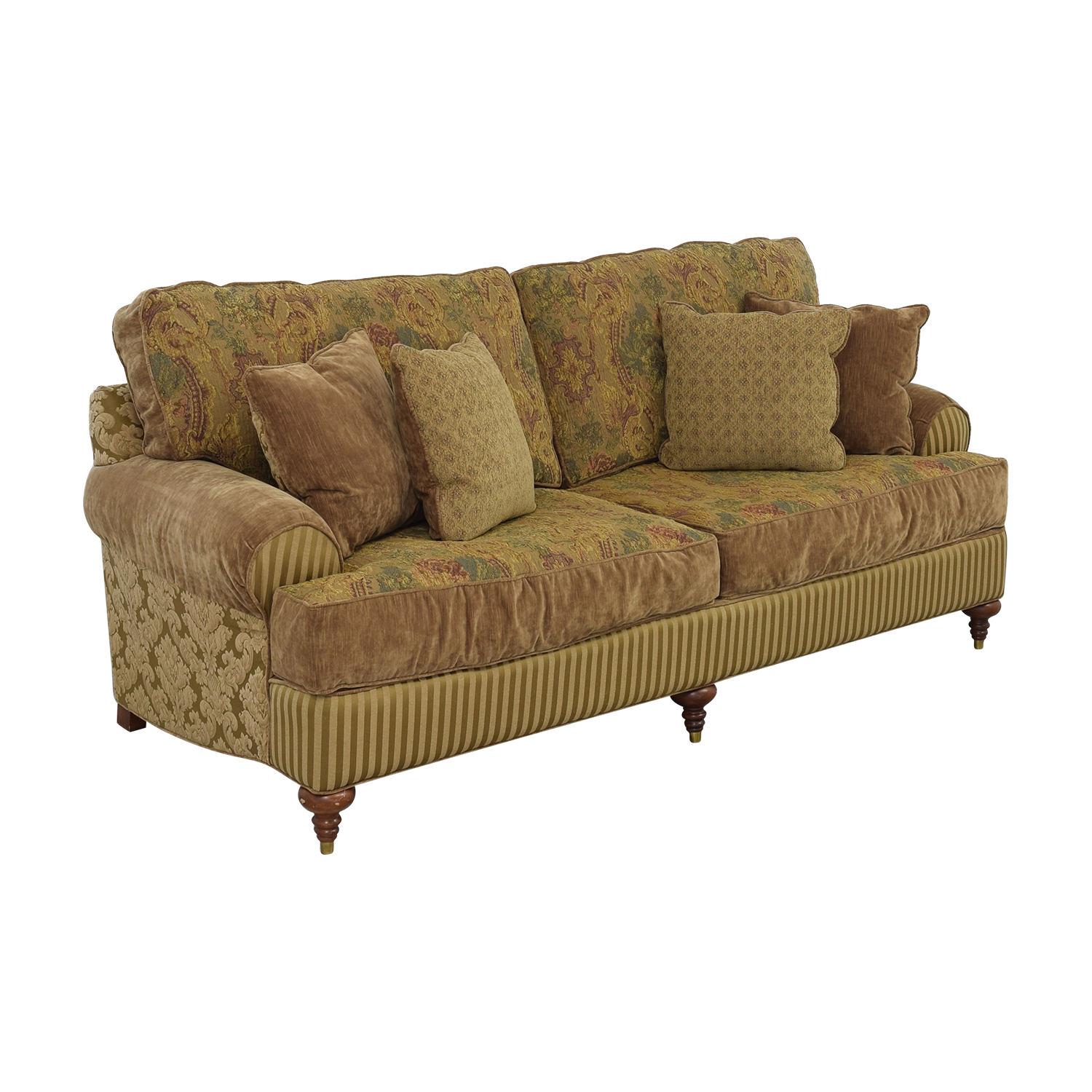 buy Alexvale Multi Print Reversible Sofa Alexvale