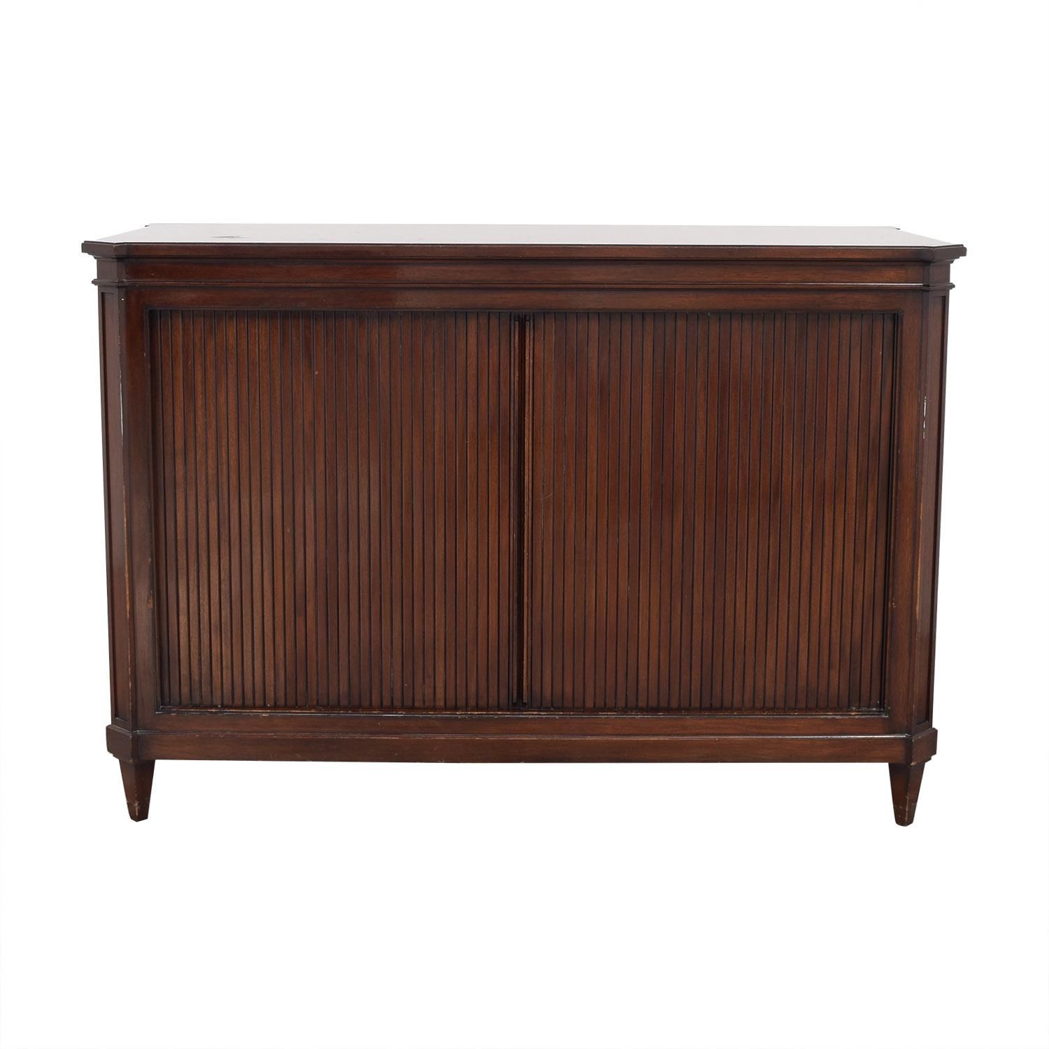 buy Vintage Accordion Door Credenza  Storage