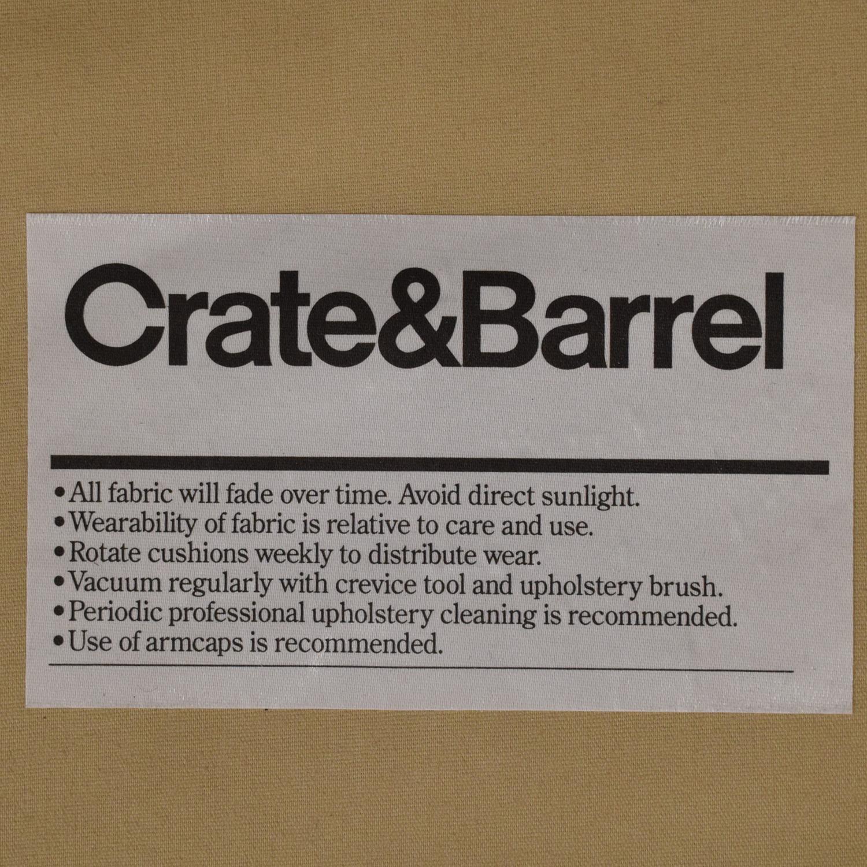 shop Crate & Barrel Lounge II Sectional Sofa Crate & Barrel Sectionals