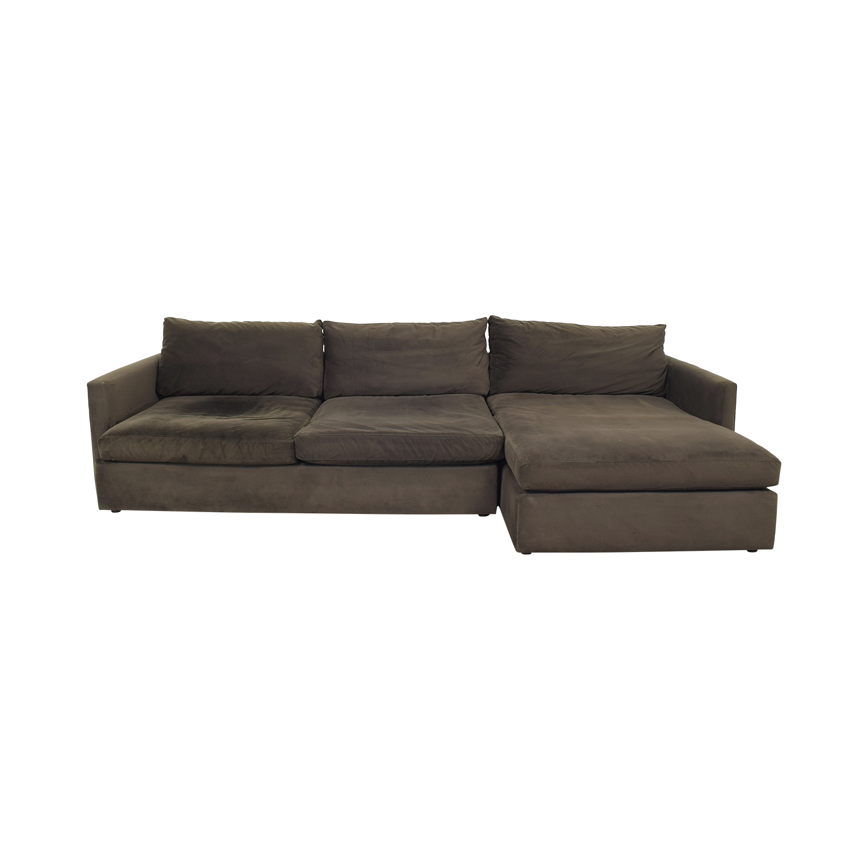 Crate & Barrel Crate & Barrel Lounge II Sectional Sofa Sofas