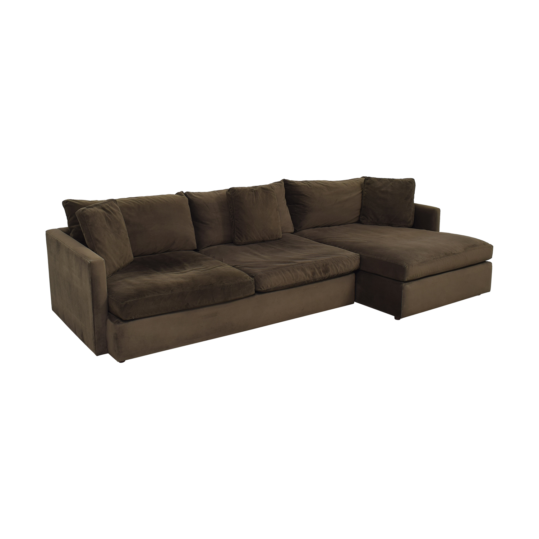 Crate & Barrel Crate & Barrel Lounge II Sectional Sofa ct