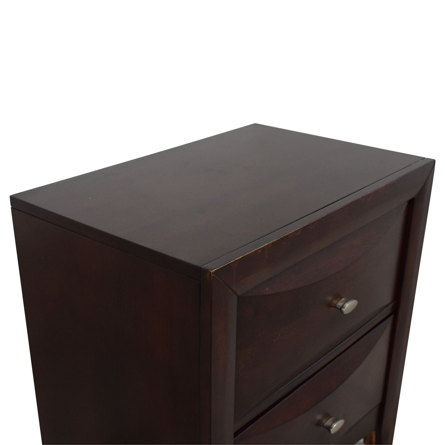 Raymour & Flanigan Raymour & Flanigan Double Drawer Night Stand price