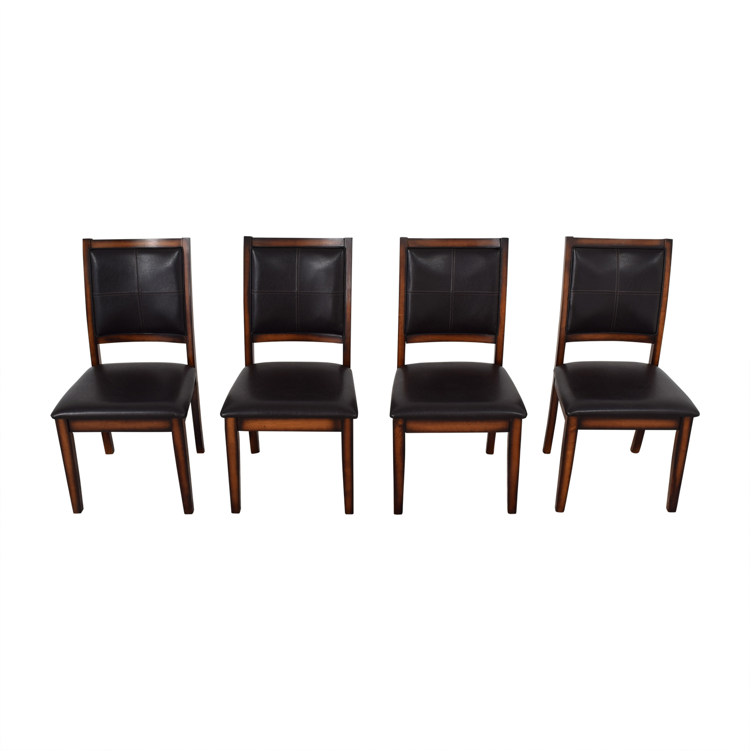 Raymour & Flanigan Raymour & Flanigan Upholstered Dining Chairs ma