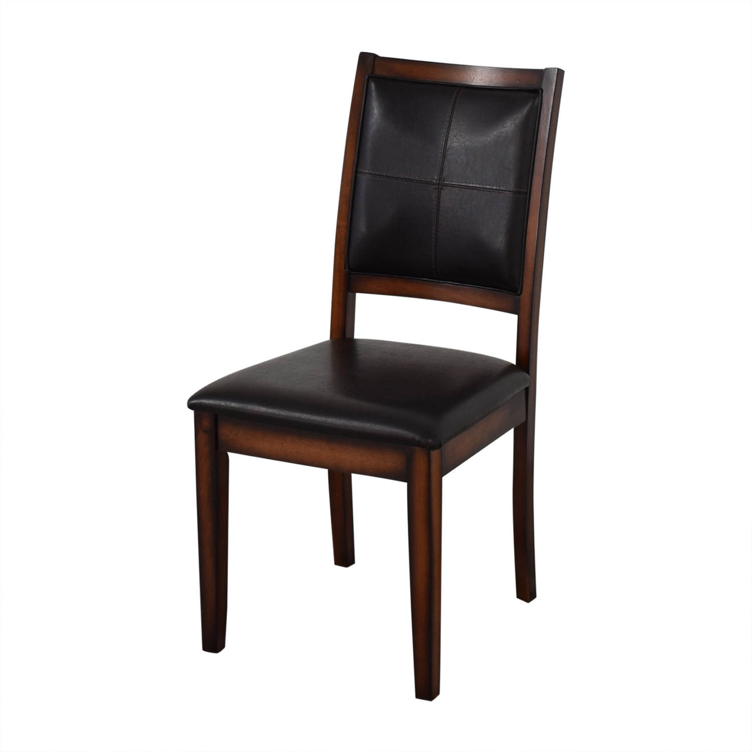 Raymour & Flanigan Raymour & Flanigan Upholstered Dining Chairs for sale