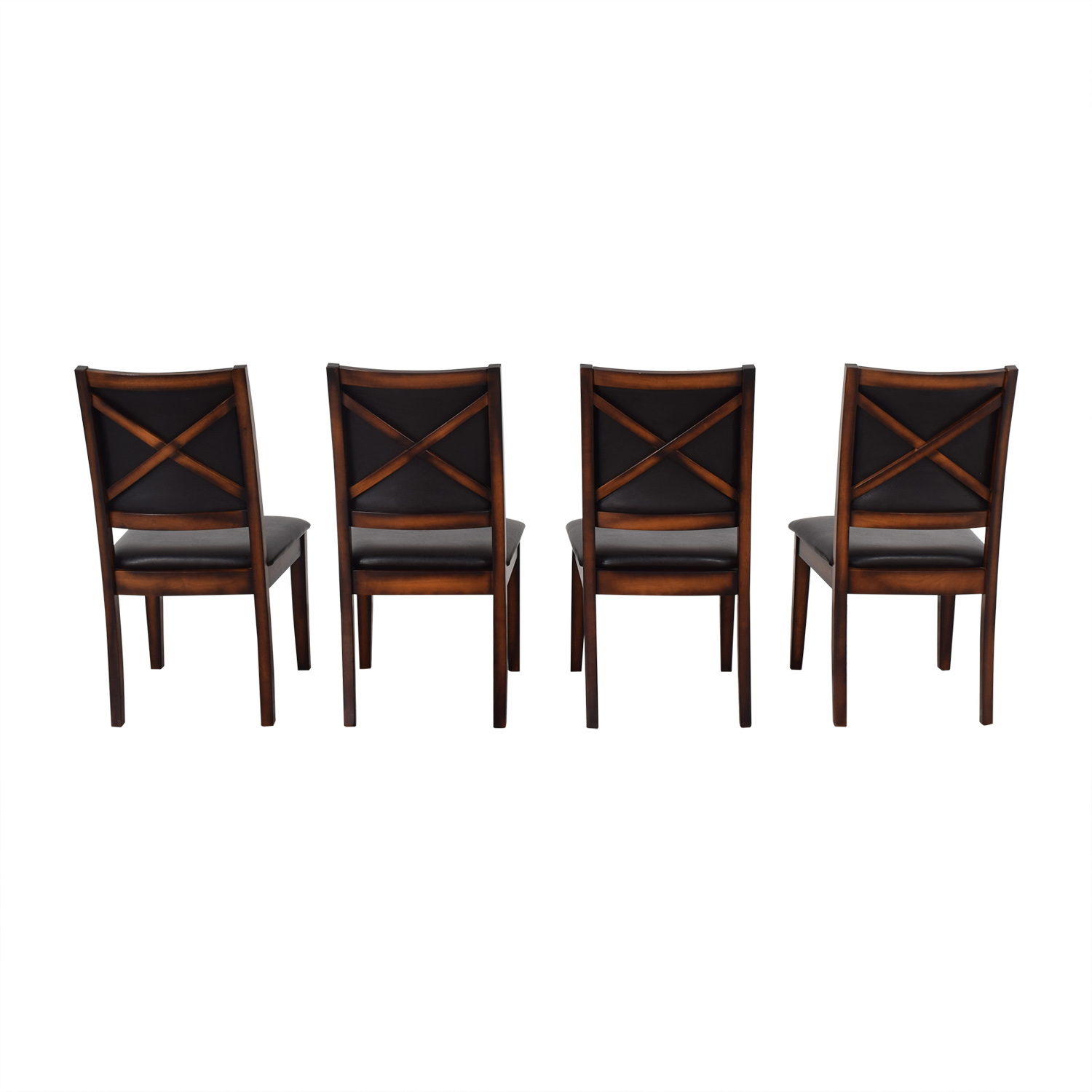 Raymour & Flanigan Raymour & Flanigan Upholstered Dining Chairs Dining Chairs