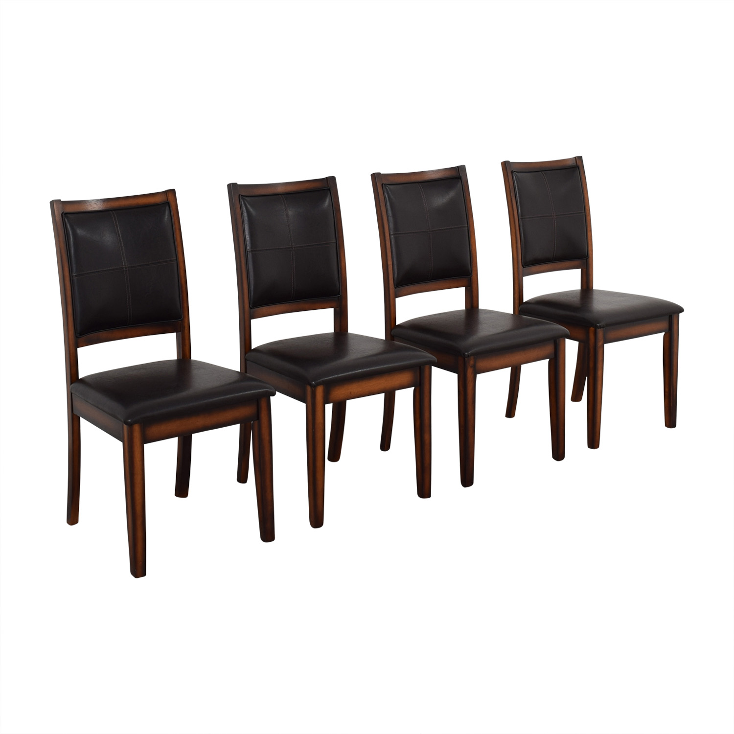 Raymour & Flanigan Raymour & Flanigan Upholstered Dining Chairs on sale