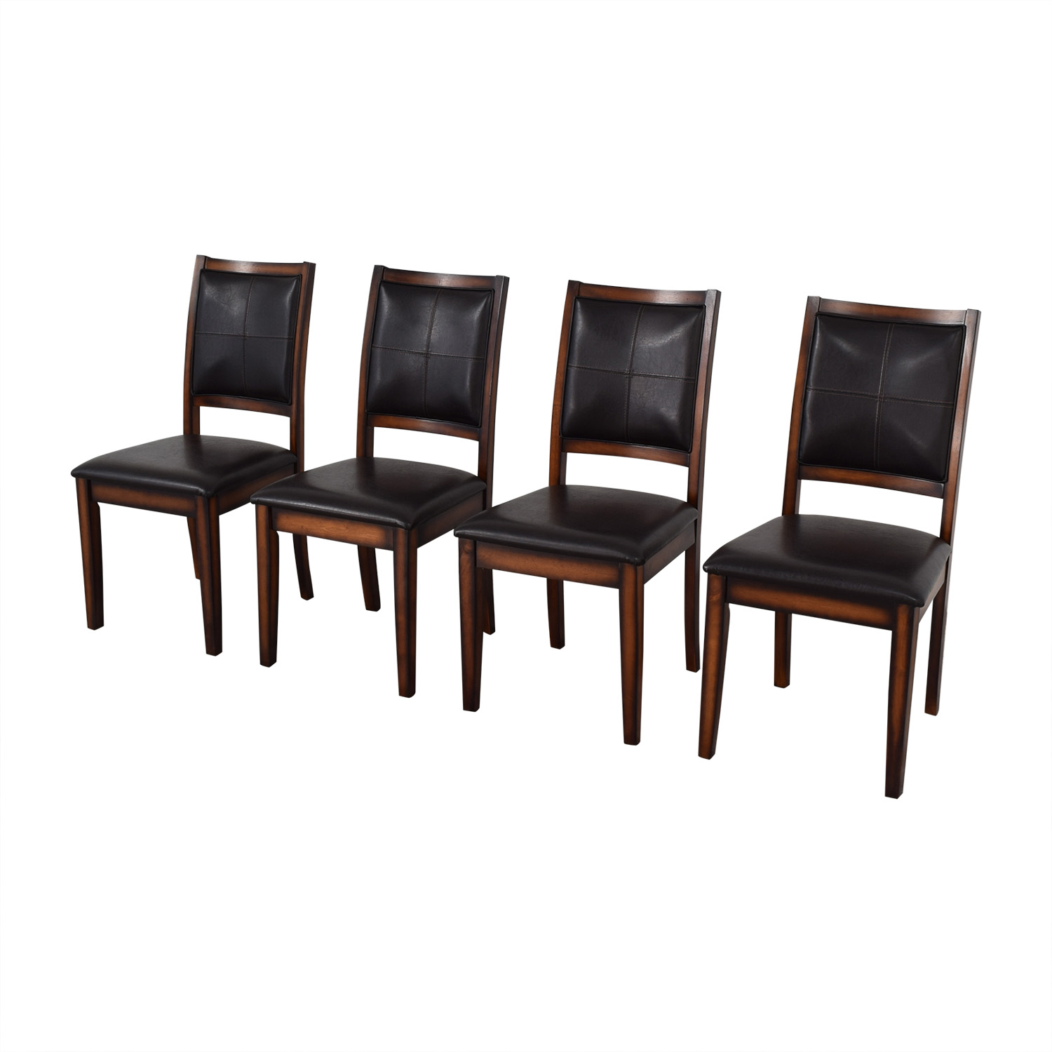 shop Raymour & Flanigan Upholstered Dining Chairs Raymour & Flanigan