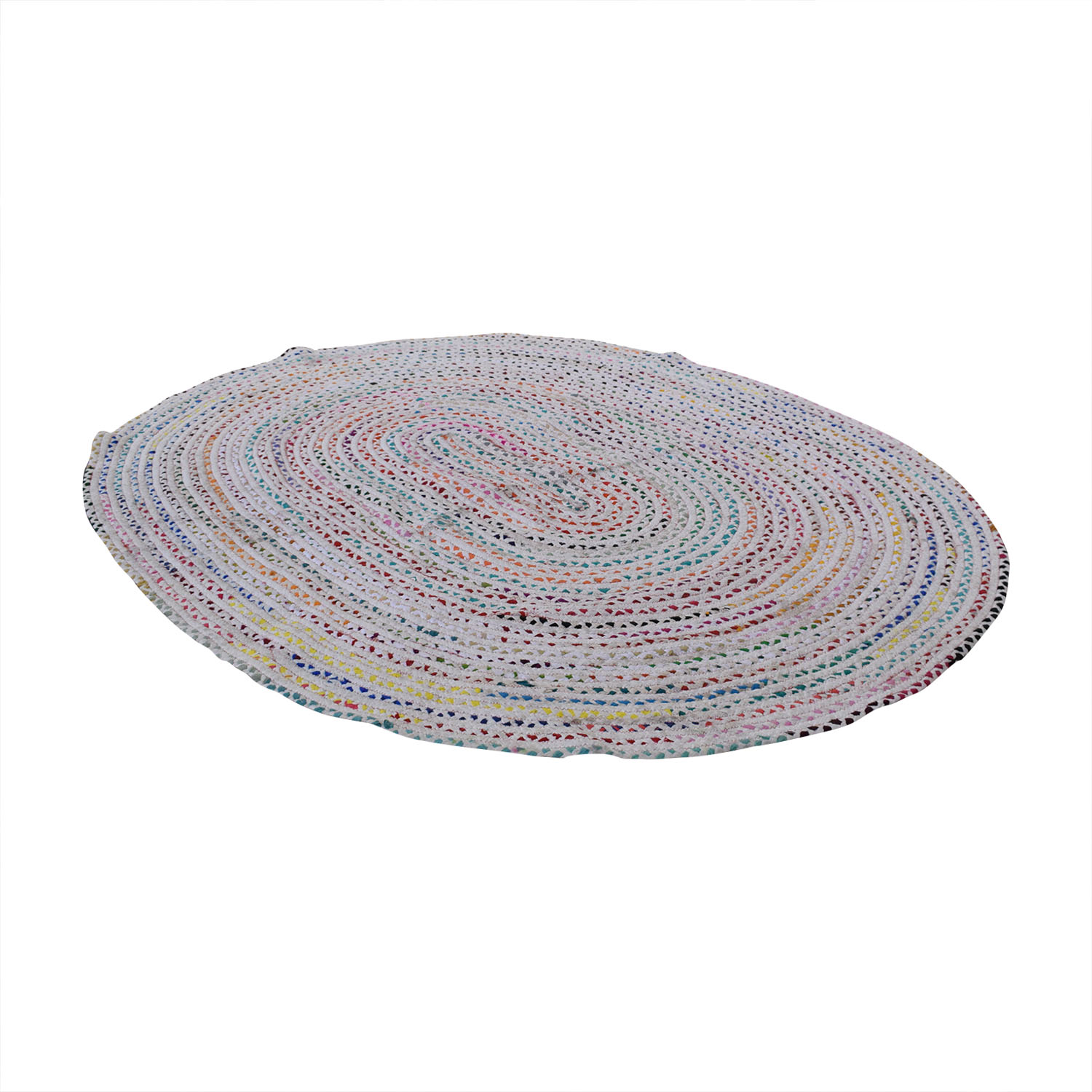 Oval Woven Rug pa