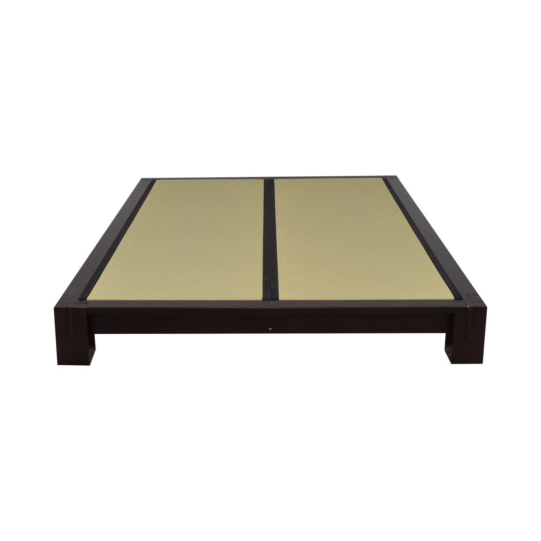 shop Haiku Designs Raku Tatami Platform Full Bed Haiku Designs Beds