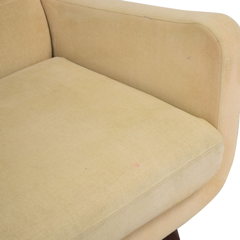 Room & Board Room & Board Anson Modern Sofa beige