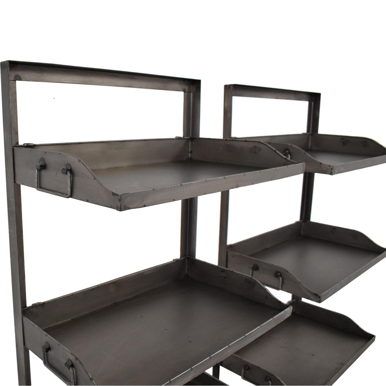 buy Bookshelves with Wheels  Bookcases & Shelving