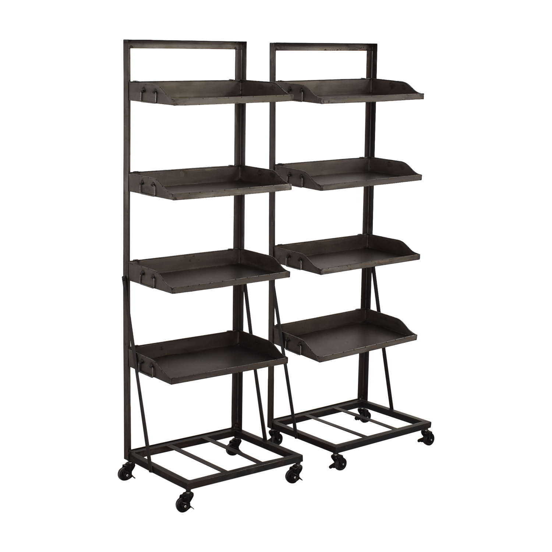 shop Bookshelves with Wheels  Storage