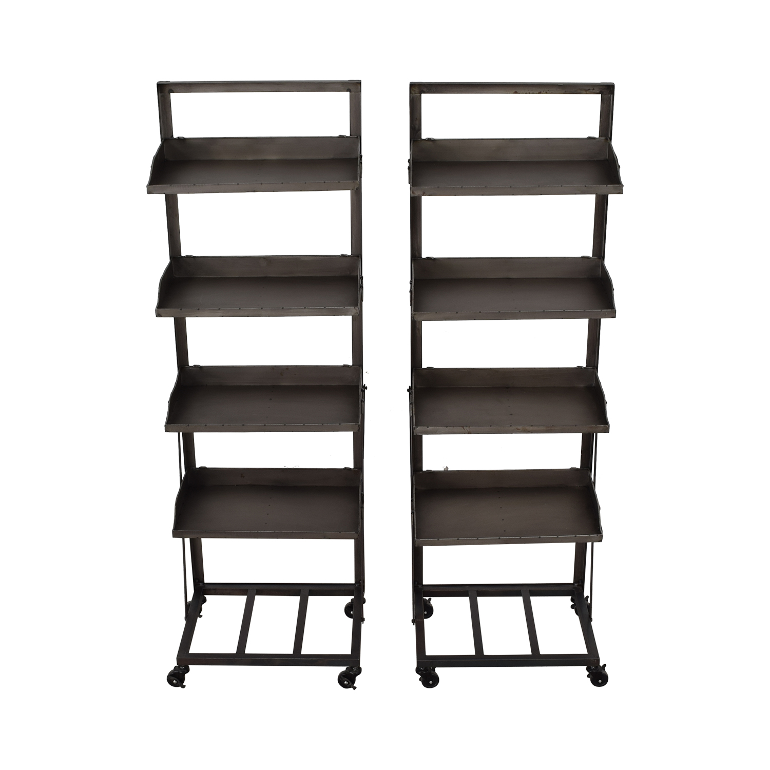 Bookshelves with Wheels dimensions