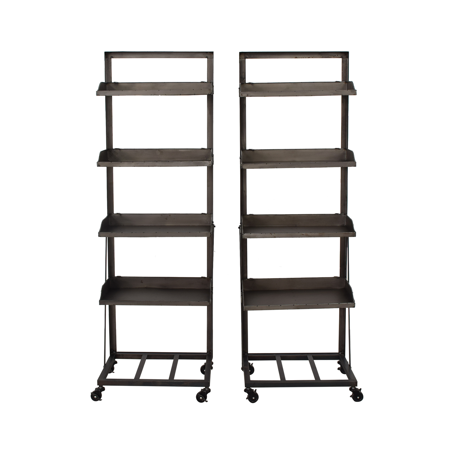 shop Bookshelves with Wheels  Storage