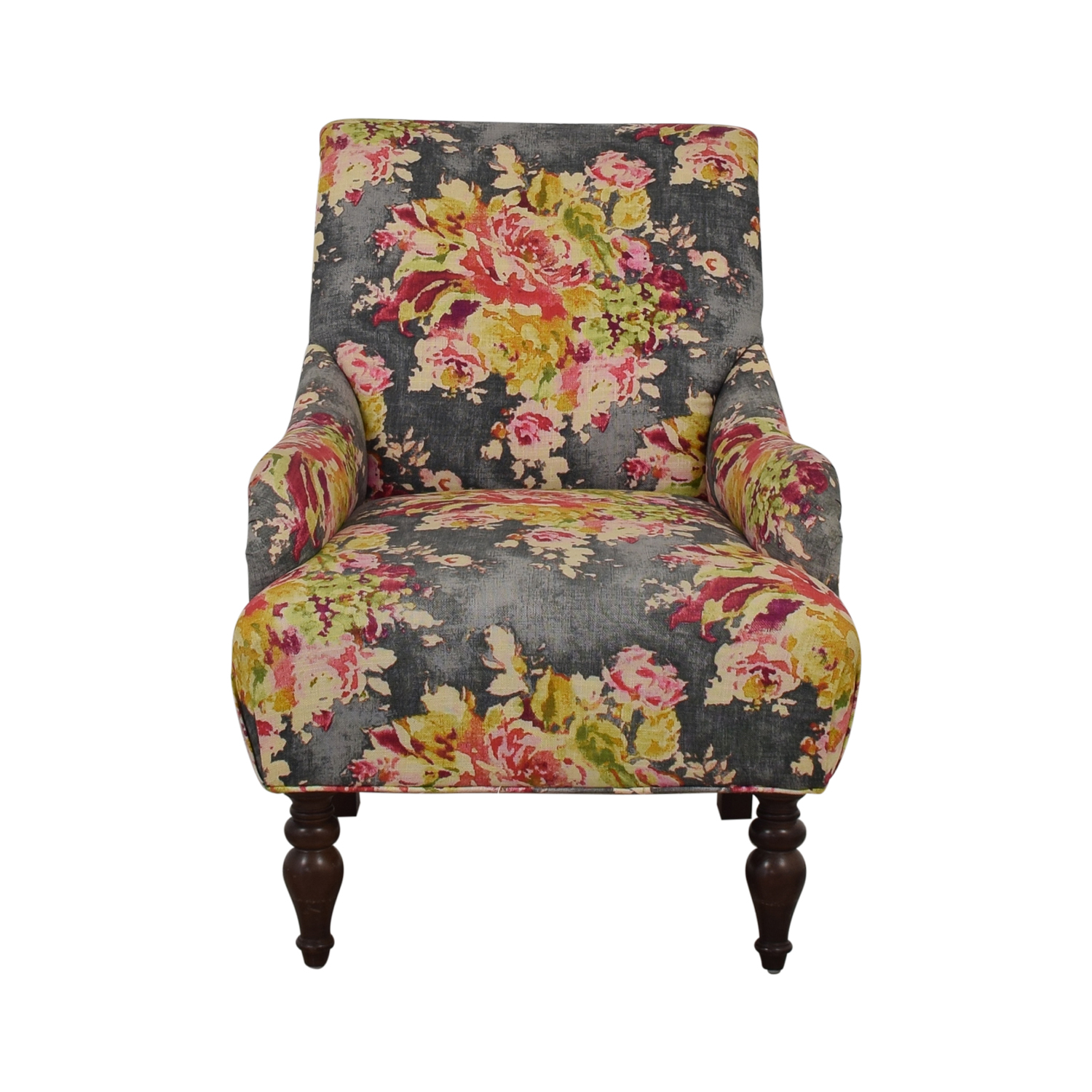 buy Raymour & Flanigan Floral Accent Chair Raymour & Flanigan Accent Chairs