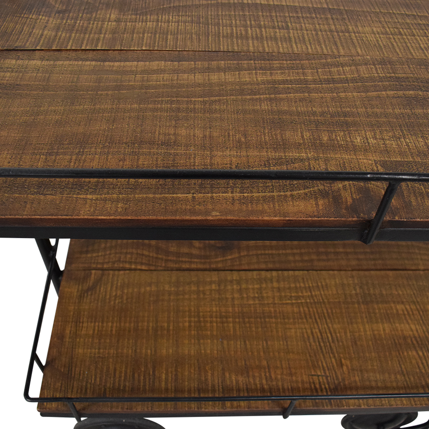 buy Restoration Hardware Warehouse Trolley Bar Cart Restoration Hardware