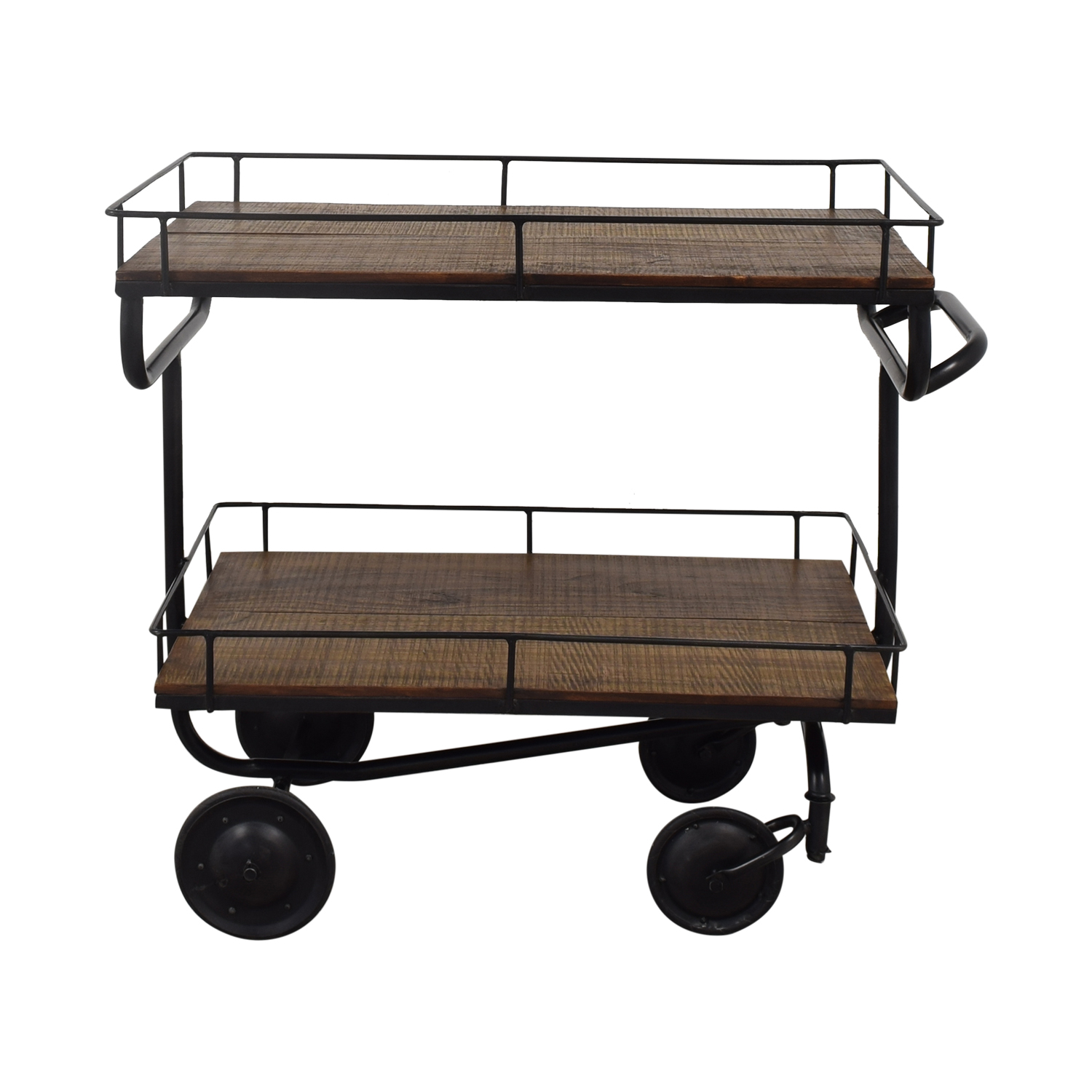 shop Restoration Hardware Warehouse Trolley Bar Cart Restoration Hardware Utility Tables