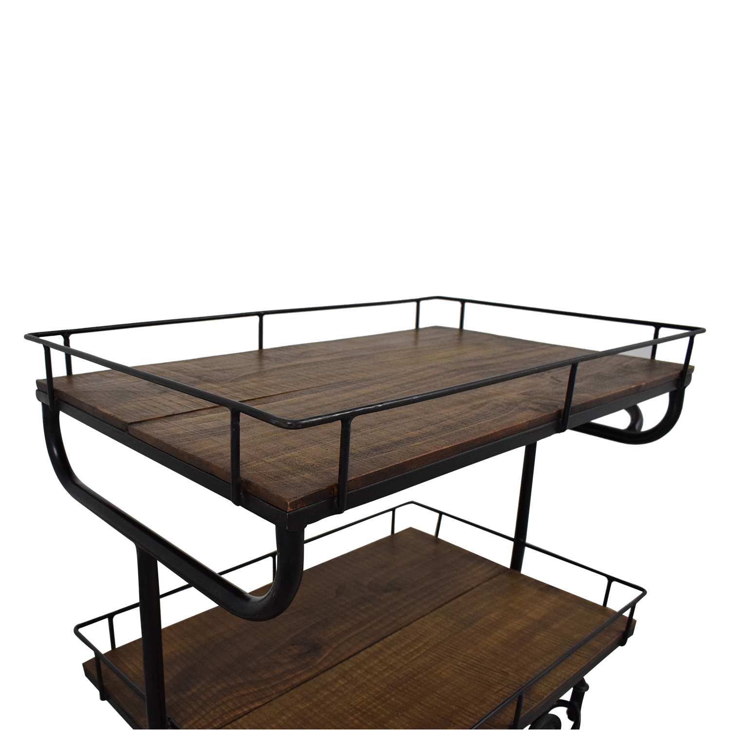 buy Restoration Hardware Restoration Hardware Warehouse Trolley Bar Cart online