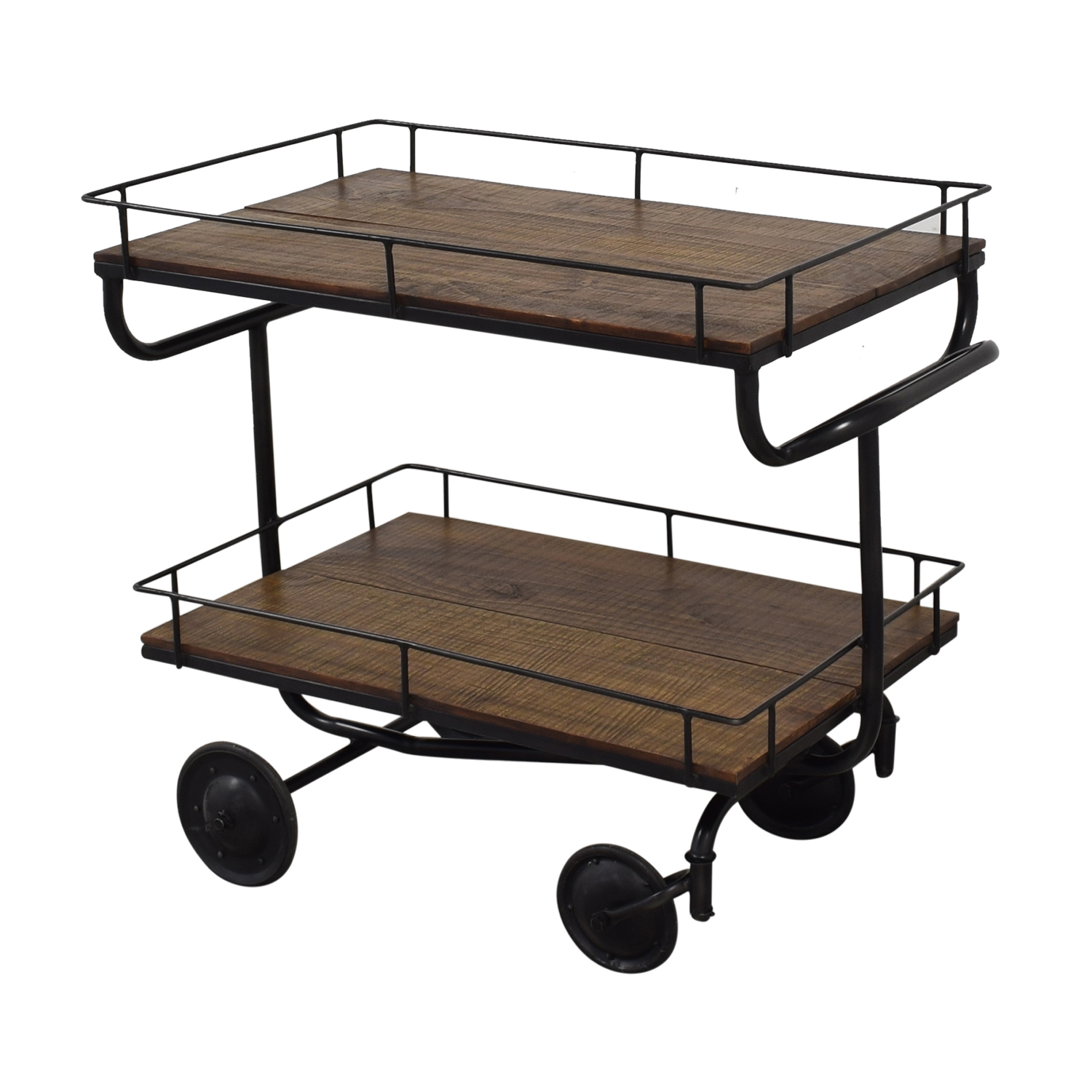 Restoration Hardware Restoration Hardware Warehouse Trolley Bar Cart coupon