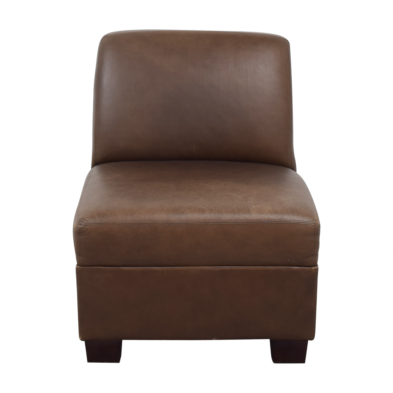 Pottery Barn Pottery Barn Trevor Slipper Chair ma