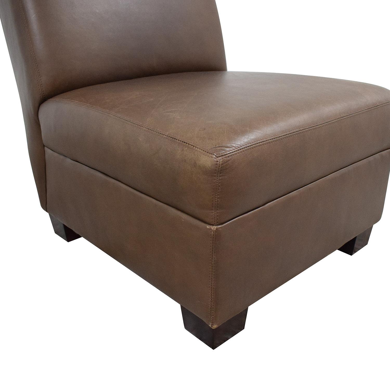 Pottery Barn Trevor Slipper Chair Pottery Barn