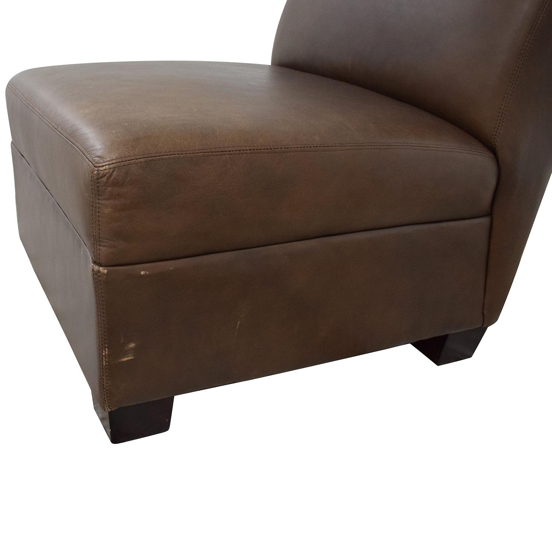 Pottery Barn Pottery Barn Trevor Slipper Chair nyc