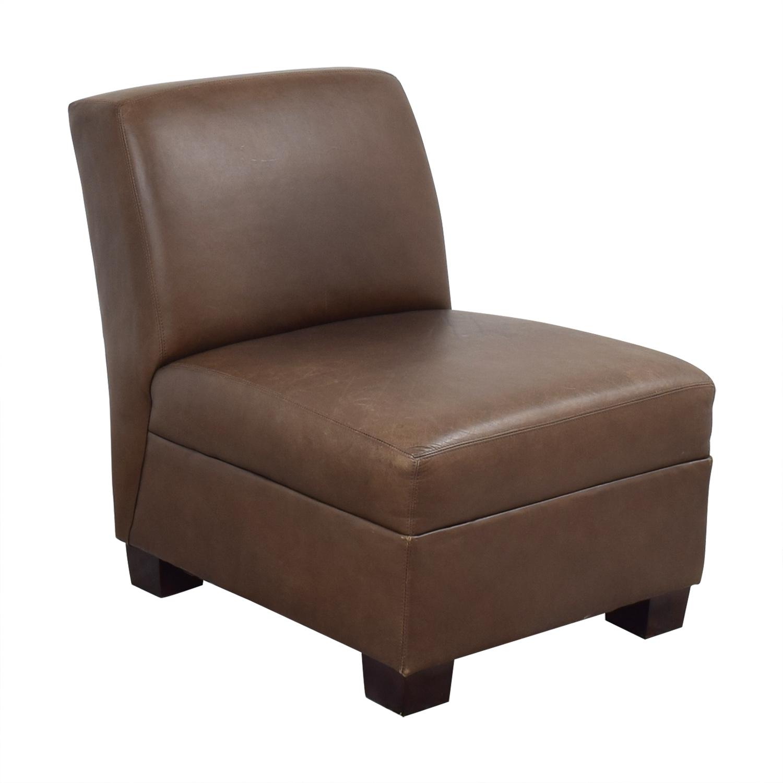 Pottery Barn Pottery Barn Trevor Slipper Chair