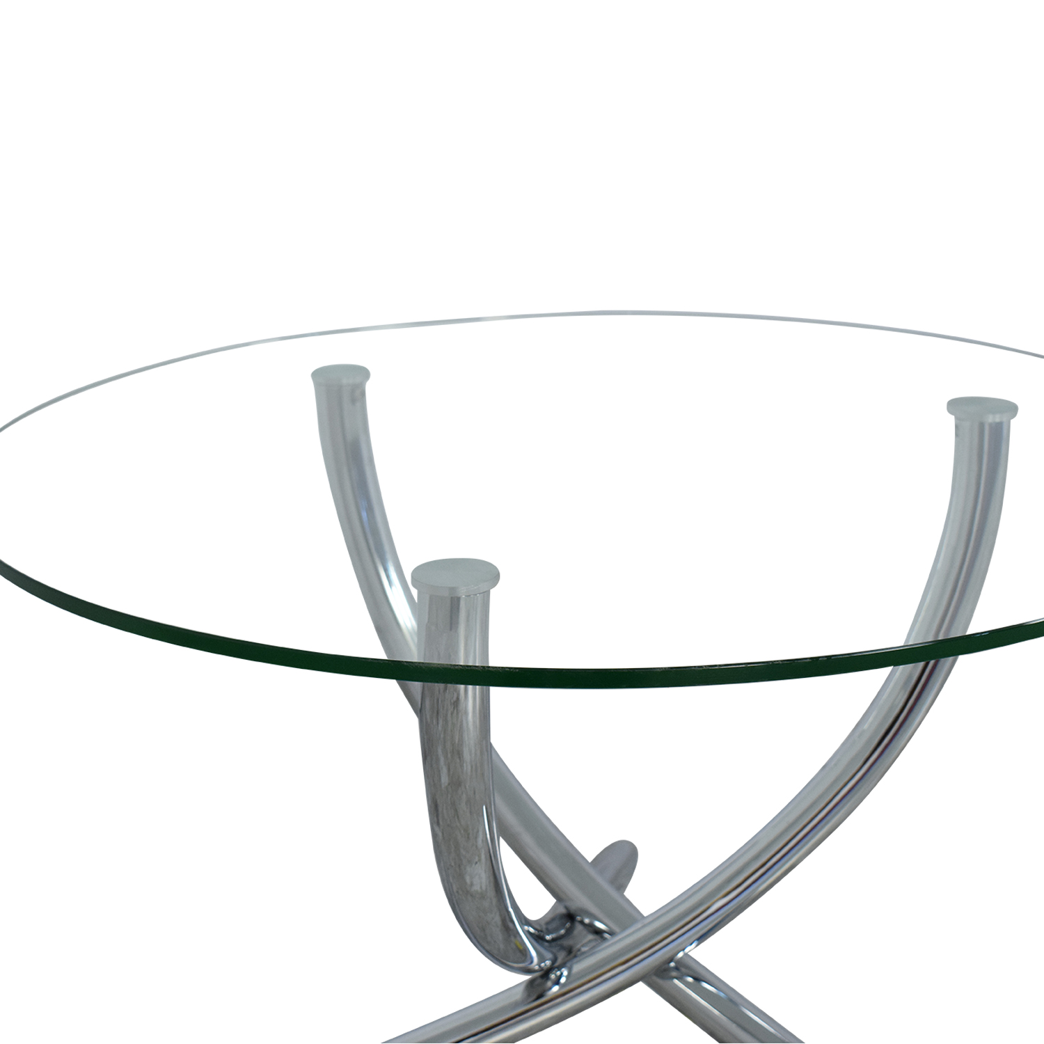 Round Glass Top Dining Table price